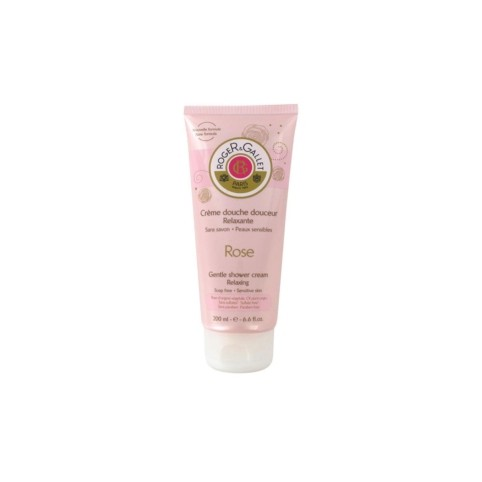 Rose Gentle Shower Cream 200ml - ROGER & GALLET. Perfumes Paris