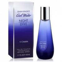 Cool Water Night Dive Woman EDT - DAVIDOFF. Comprar al Mejor Precio y leer opiniones
