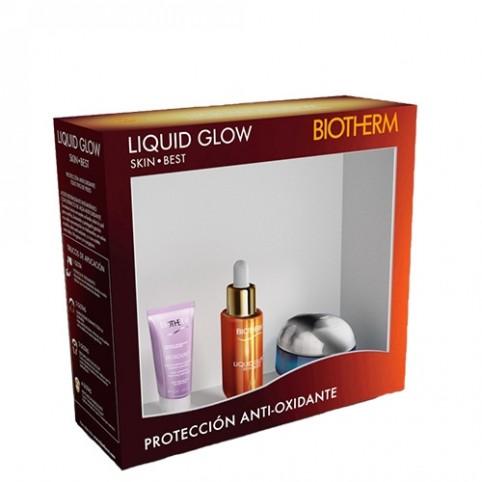 Set biotherm skin liquid glow 30ml+ 2 piezas - BIOTHERM. Perfumes Paris