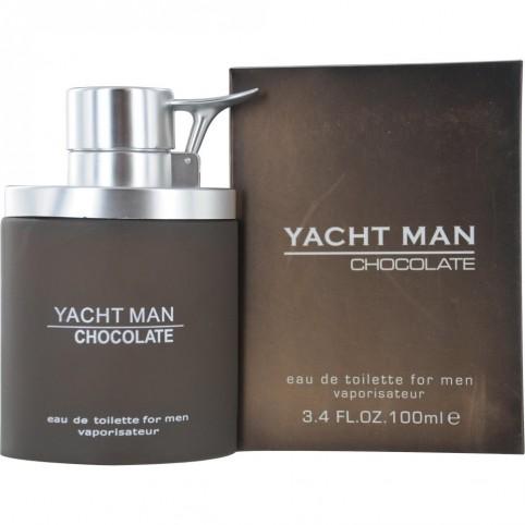 Yacht man chocolat for men edt 100ml - YACHT MAN. Perfumes Paris