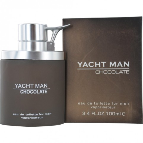 Yacht man chocolat for men edt 100ml - YACHT MAN. Perfumes Paris