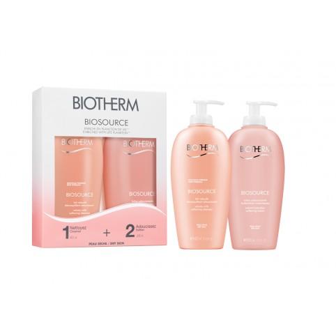 Set Biosource Pieles Secas - BIOTHERM. Perfumes Paris