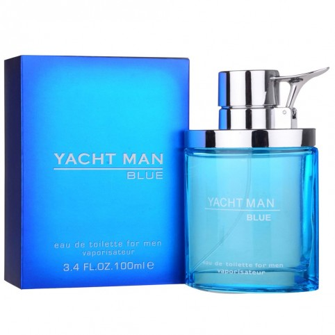 Yacht Man Blue EDT - YACHT MAN. Perfumes Paris