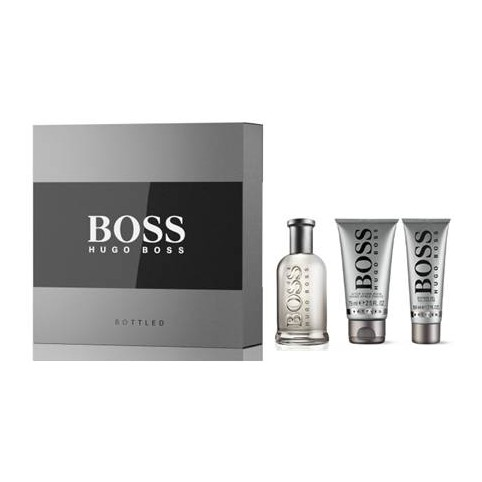 Set boss bottled edt 100ml+asb 75ml+gel 50ml - HUGO BOSS. Perfumes Paris