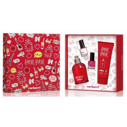 Set amor amor edt 100ml+2 lacas uñas - CACHAREL. Perfumes Paris