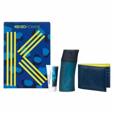 Set kenzo pour homme edt 100ml+gel 50ml+cartera - KENZO. Perfumes Paris