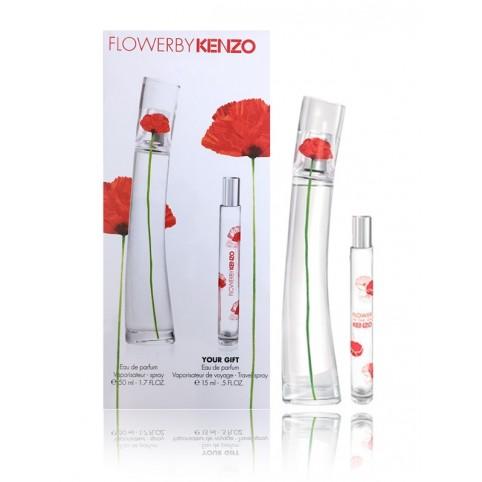 Set flower by kenzo edp 50ml+edp 15ml - KENZO. Perfumes Paris