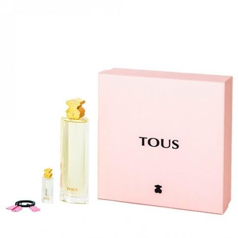 Set tous edp 100ml+llavero+replica 4,5ml - TOUS. Perfumes Paris