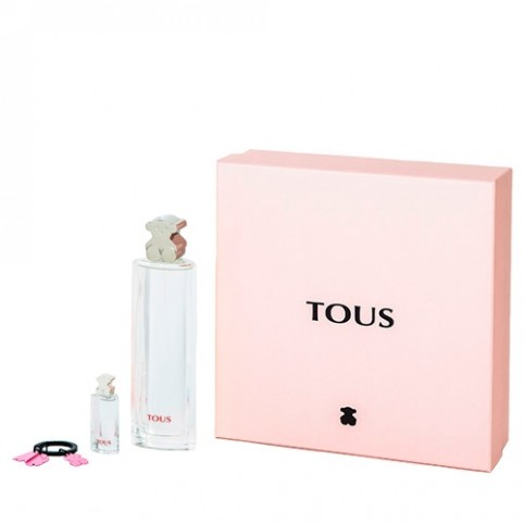 Set tous edt 100ml+llavero+replica 4,5ml - TOUS. Perfumes Paris