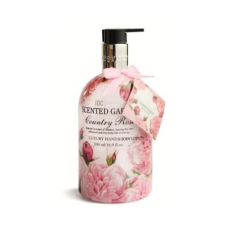 Idc scented garden body milk country rose 100ml - IDC. Perfumes Paris