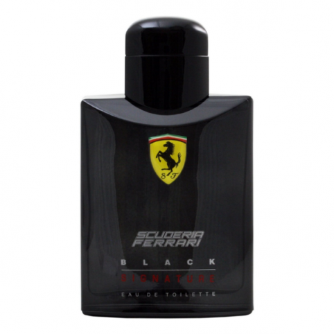 Ferrari black signature edt 125ml - FERRARI. Perfumes Paris