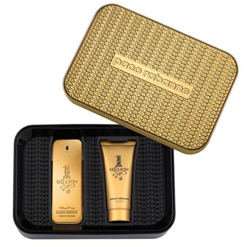 Set 1 million edt 100ml+gel 100ml - PACO RABANNE. Perfumes Paris
