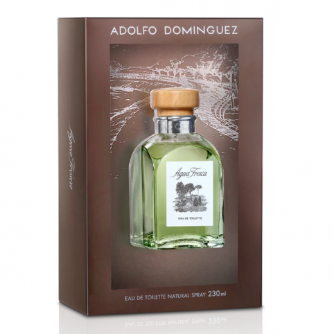 Agua Fresca 230ml 20º Aniversario - ADOLFO DOMINGUEZ. Perfumes Paris