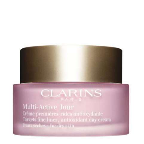 Crema Día Multi-Active Pieles Secas - CLARINS. Perfumes Paris