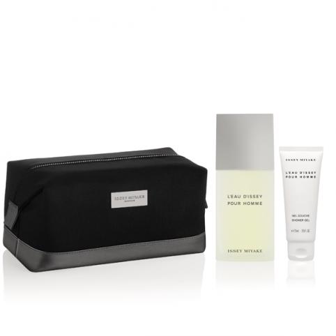 Set issey pour homme edt 125 + neceser + gel ducha 75ml - ISSEY MIYAKE. Perfumes Paris