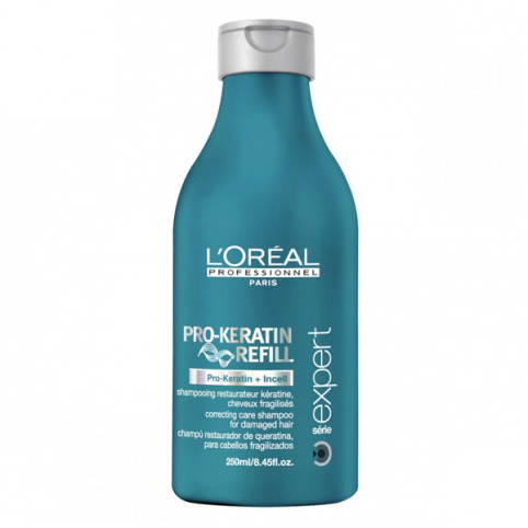 Pro-keratin refill shampoo - 1500ml - L'OREAL PROFESSIONAL. Perfumes Paris