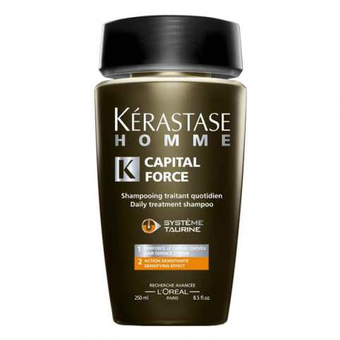 Kerastase champu hombre force capital densificante 250ml - KERASTASE. Perfumes Paris