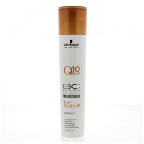 Schwarzkpoff bc time restore q10 shampoo 250ml - SCHWARZKOPF. Perfumes Paris