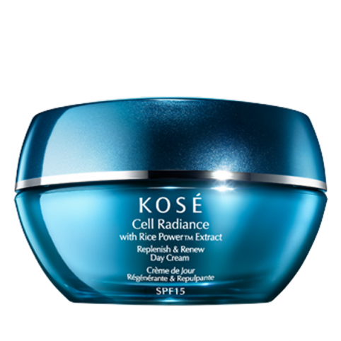Kose cell radiance  replenish & renew day cream 40ml - KOSE. Perfumes Paris