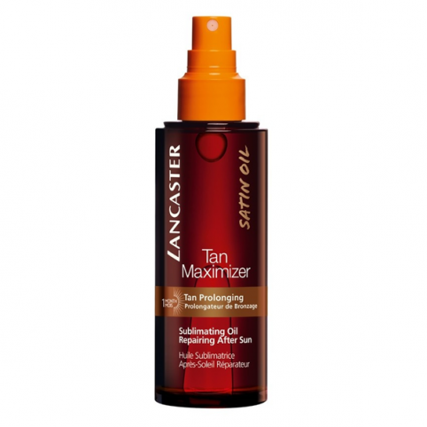 Lancaster sun after sun tan maximizer satin oil 150ml spray - LANCASTER. Perfumes Paris