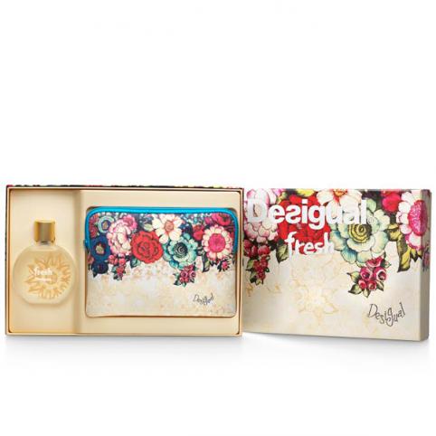 Set desigual fresh femme edt 100ml+neceser - DESIGUAL. Perfumes Paris