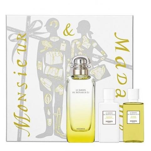 Set hermes un jardin du monsieur li edt 100ml+body 40ml+gel 40ml - HERMES. Perfumes Paris