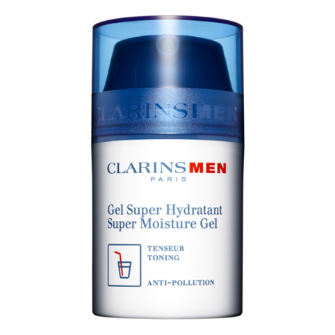 Clarins men gel super hidratante 50ml - CLARINS. Perfumes Paris