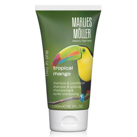 Marlies moller 2 en 1 tropical mango 150ml - MARLIES MOLLER. Perfumes Paris