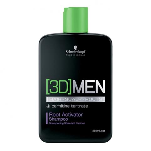 Schwarzkpoff 3d men activating shampoo 250ml - SCHWARZKOPF. Perfumes Paris