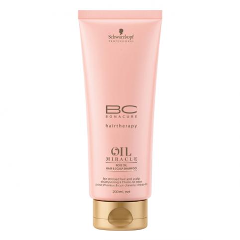 Schwarzkpoff bc oil rose shampoo 200ml - SCHWARZKOPF. Perfumes Paris
