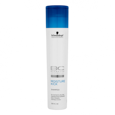 Schwarzkpoff bc moisture kick shampoo 250ml - SCHWARZKOPF. Perfumes Paris