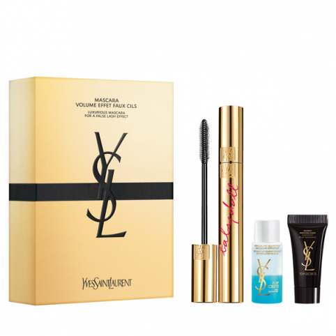 Set ysl mascara faux cils baby doll negra+ 2 minitallas@ - YVES SAINT LAURENT. Perfumes Paris