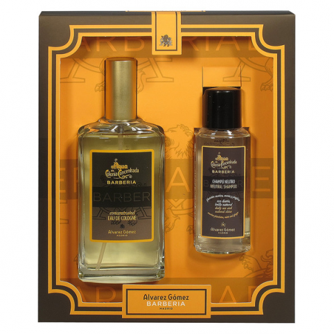 Set alvarez gomez barberia edc concen.150ml+ champu 90ml - ALVAREZ GOMEZ. Perfumes Paris