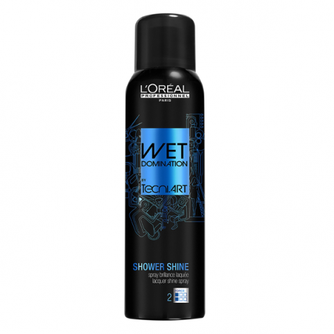 Spray Fijador Shower Shine Wet Domination - L'OREAL PROFESSIONAL. Perfumes Paris