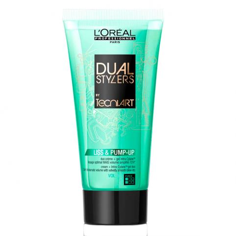 L'oreal tecni.art dual styler liss & pump gel 150ml - L'OREAL PROFESSIONAL. Perfumes Paris