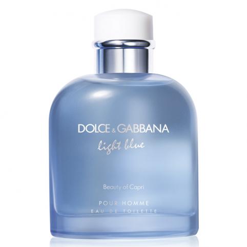 Dolce gabbana light blue pour homme beauty of capri edt 75ml - DOLCE & GABBANA. Perfumes Paris