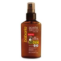 Aceite Seco Solar de Coco SFP50 100ml - BABARIA. Comprar al Mejor Precio y leer opiniones