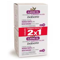 Crema Facial Hidratante de Almandras 2x1 - BABARIA. Comprar al Mejor Precio y leer opiniones