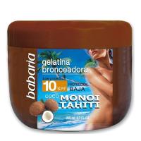 Gelatina SPF10 Coco Monoi Tahiti - BABARIA. Comprar al Mejor Precio y leer opiniones