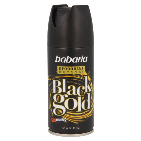 Babaria desodorante black gold 200ml - BABARIA. Perfumes Paris