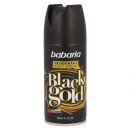 Babaria desodorante black gold 200ml