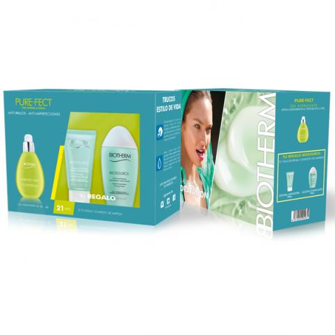 Set biotherm aquasource purefect 50ml+2 minitallas - BIOTHERM. Perfumes Paris