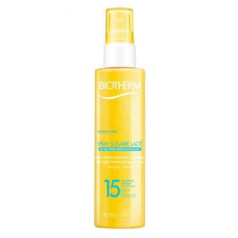 Biotherm sun milky spf15 200ml - BIOTHERM. Perfumes Paris