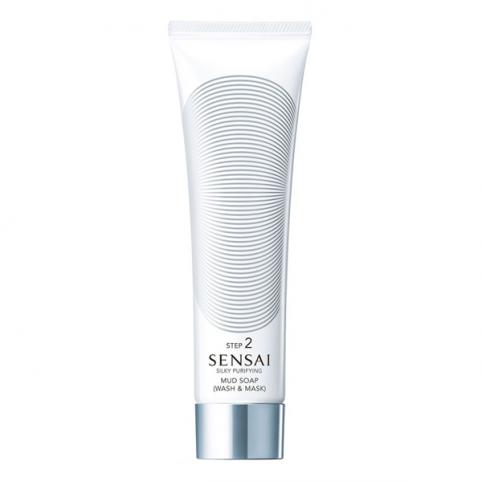 Silk Purifying Mud Soap (Wash&Mask) 125ml - KANEBO. Perfumes Paris