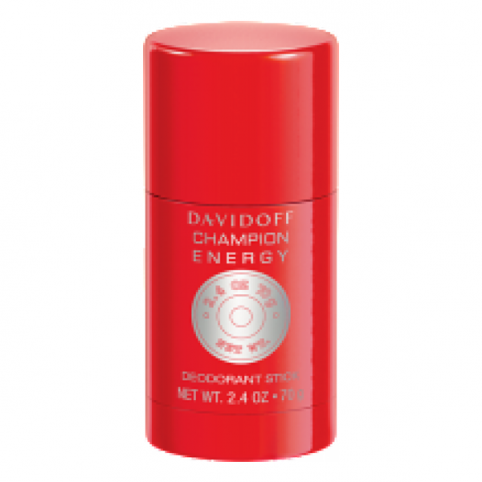 Champion Energy Deo Stick 70gr - DAVIDOFF. Perfumes Paris