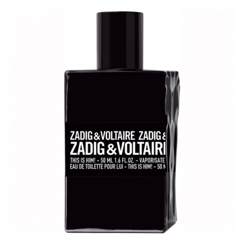 Zadig & voltaire this is him! edt 50ml - ZADIG & VOLTAIRE. Perfumes Paris