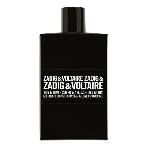 Zadig & voltaire this is him! gel 200ml - ZADIG & VOLTAIRE. Perfumes Paris