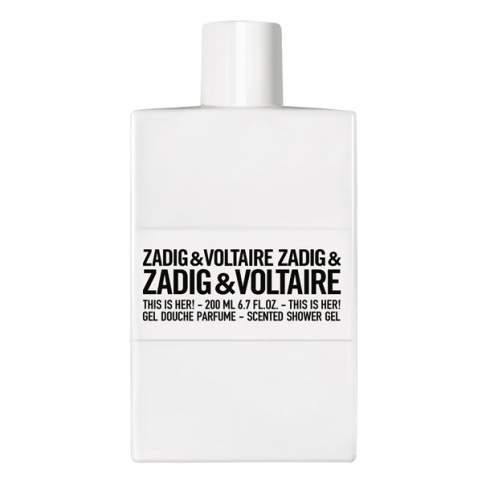 Zadig & voltaire this is her! gel 200ml - ZADIG & VOLTAIRE. Perfumes Paris