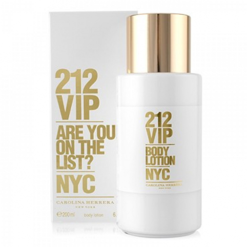 212 vip woman body 200ml@ - CAROLINA HERRERA. Perfumes Paris