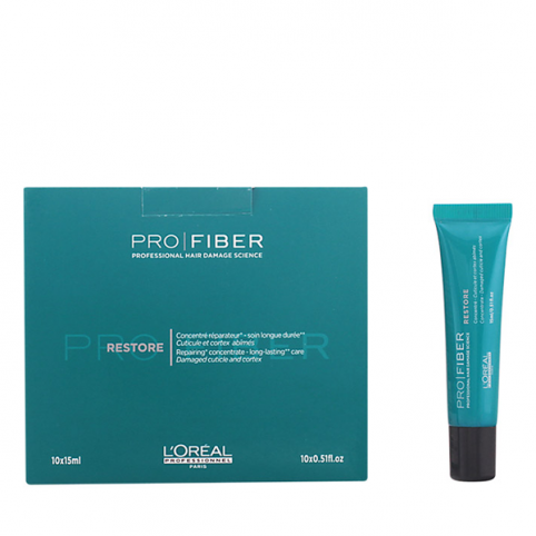 Pro Fiber Restore Concentrado 10x15ml - L'OREAL PROFESSIONAL. Perfumes Paris
